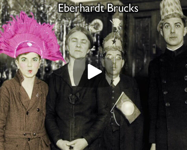 Excerpts from a film about the life, work & collection of Berlin artist Eberhardt Brucks.