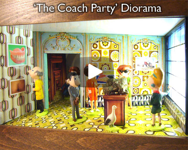 The Coach Party – A diorama box.
