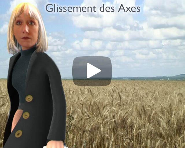 Glissement des Axes: People-Puppet animation with Friches Théâtre Urbain, Paris.