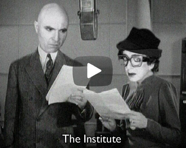 The Institute – Excerpts from projections & performance at the Schwules Museum, Berlin.