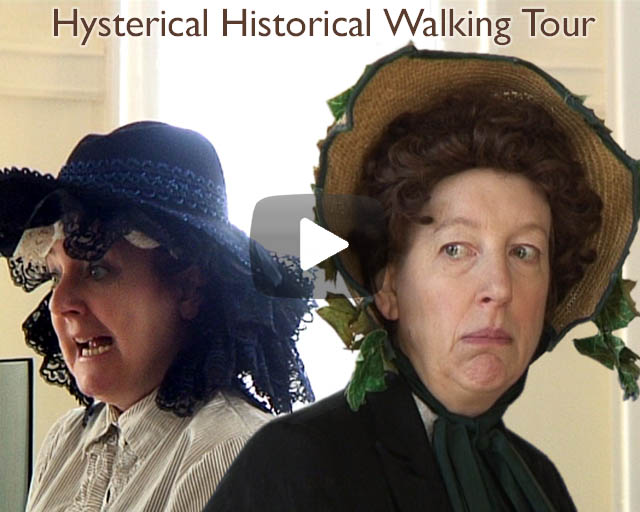 Excerpt: Film made for Lipservice/Manchester Museums & Galleries Consortium. Hysterical Historical Walking Tour, Manchester.