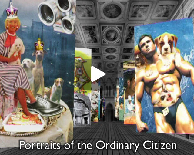 Portraits of the Ordinary Citizen – Montage Illustrations.
