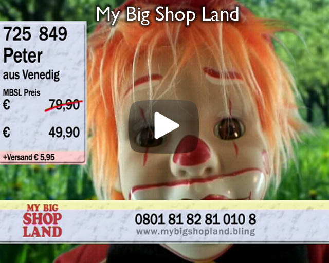 My Big Shop Land – Installation with Video