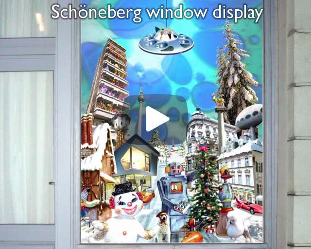 Schöneberg window display
